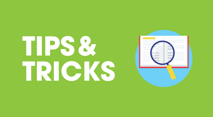 Tips & Tricks article category