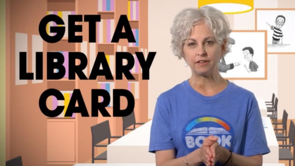 Get a Library Card video